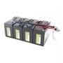 Battery kit RBC25 - náhrada za  RBC25 APC - 4ks CSB12V9Ah