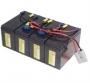 Battery kit RBC25 - náhrada za  RBC25 APC - 4ks CSB12V7.2Ah